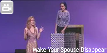 Make your Spouse Disappear Video
